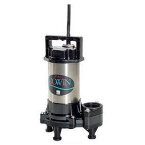 【直送品】 エバラポンプ(荏原製作所) DWV型 樹脂製汚水・汚物用水中ポンプ(ダーウィン) 40DWV6.15A (0.15kw 200V 60HZ)