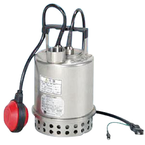 【直送品】 エバラポンプ(荏原製作所) P707型 ステンレス製水中ポンプ(PONTOS) 40P707A6.55S (自動運転形 0.55kw 100V 60HZ)