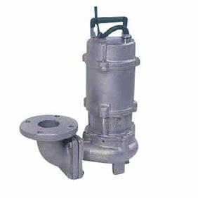 【直送品】 エバラポンプ(荏原製作所) DVSL型 ステンレス製セミボルテックス水中ポンプ 50DVSL51.5 (1.5kw 200V 50HZ)