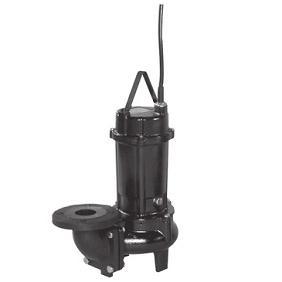 【直送品】 エバラポンプ(荏原製作所) DV2型 ボルテックス水中ポンプ 65DV25.75A (0.75kw 200V 50HZ)