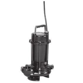 【直送品】 エバラポンプ(荏原製作所) DVS型 セミボルテックス水中ポンプ 65DVS5.75A (0.75kw 200V 50HZ)
