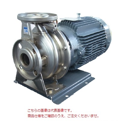 【直送品】 エバラポンプ(荏原製作所) FDP型 ステンレス製渦巻ポンプ 65×50FDGP65.5E (65X50FDGP65.5E) (5.5kw 200V 60HZ)