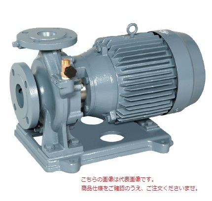 【直送品】 エバラポンプ(荏原製作所) FSD型 片吸込渦巻ポンプ 65×50FSHD55.5E (65X50FSHD55.5E) (5.5kw 200V 50HZ)