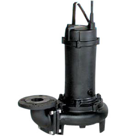 【直送品】 エバラポンプ(荏原製作所) DL型 汚水汚物用水中ポンプ 80DLB65.5A (5.5kw 200V 60HZ)