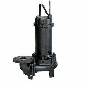 【直送品】 エバラポンプ(荏原製作所) DV型 固形物移送用ボルテックス水中ポンプ 80DV57.5A (7.5kw 200V 50HZ)