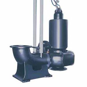 【直送品】 エバラポンプ(荏原製作所) DSC型 水中渦巻斜流ポンプ DSC6 (5.5kw 200V 60HZ)