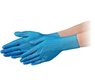 エブノ PVC手袋 NEXT PF S 半透明 2000枚(100枚X20箱) プラスチックグローブ