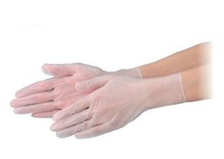 エブノ PVC手袋 NEXT S 半透明 2000枚(100枚X20箱) プラスチックグローブ