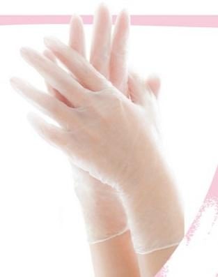エブノ PVC手袋 No.117 S 半透明 2000枚入(100枚×20箱) リセファンデ
