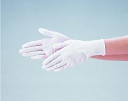 【大箱特価】 エブノ ニトリル手袋 No.525 M 白 (100枚入×20箱) ディスポニトリル パウダーフリー ホワイト