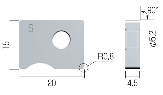 富士元 チップ (3個入り) N54GCRCR-9R NK2020