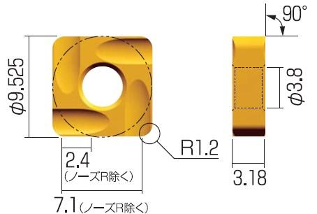 富士元 チップ (12個入り) S32GUR NK3030