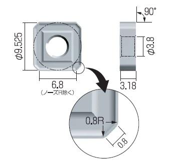 富士元 チップ (12個入り) S32MMOZ AC15T