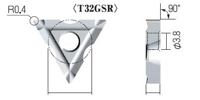 富士元 チップ (3個入り) T32GSR-3R NK2020