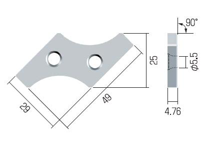 富士元 チップ (3個入り) XNEW3004-20R NK2020 【受注生産品】