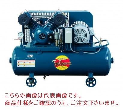 【直送品】 富士コンプレッサー製作所 オイルレスコンプレッサ OLS-37P (OLS-37PMT) 【大型】