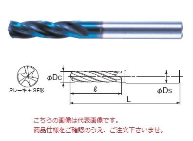 不二越 (ナチ) 超硬ドリル AQD3F5.7 (アクアドリル 3フルート)