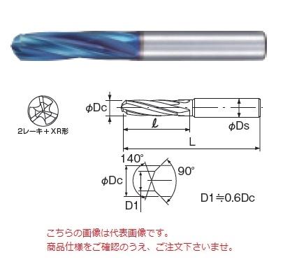 不二越 (ナチ) 超硬ドリル AQDEX3FH0760 (アクアドリル EX 3フルートハード)