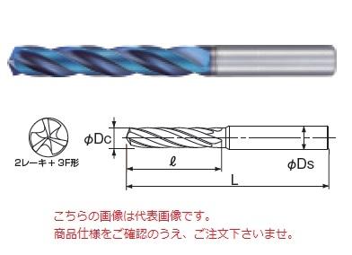 不二越 (ナチ) 超硬ドリル AQDEX3FR1030 (アクアドリル EX 3フルートレギュラ)