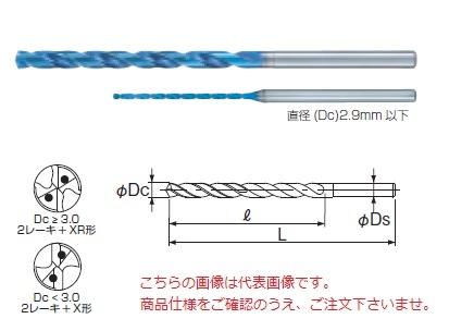 不二越 (ナチ) 超硬ドリル AQDEXOH15D1070 (アクアドリル EX オイルホール 15D)