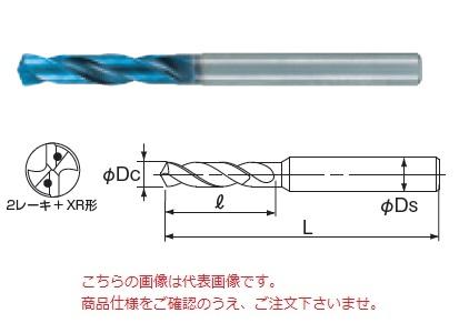 不二越 (ナチ) 超硬ドリル AQDEXOH3D1280 (アクアドリル EX オイルホール 3D)