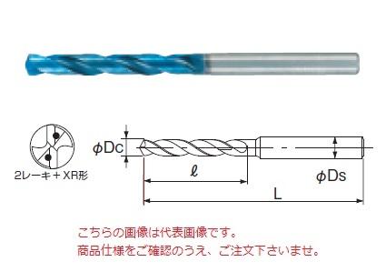 不二越 (ナチ) 超硬ドリル AQDEXOH5D0250 (アクアドリル EX オイルホール 5D)