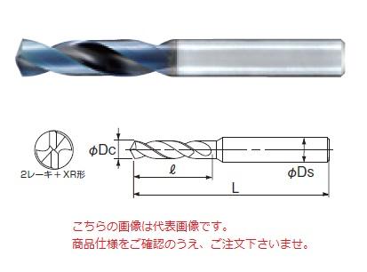 不二越 (ナチ) 超硬ドリル AQDEXS1380 (アクアドリル EX スタブ)