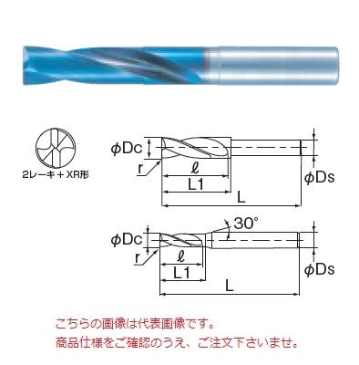 不二越 (ナチ) 超硬ドリル AQDEXZ0750-R04 (アクアドリル EX フラットコーナ R付き)