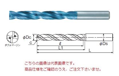 不二越 (ナチ) 超硬ドリル AQDEXZOH5D1080 (アクアドリル EX フラットオイルホール5D)