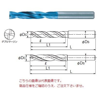 不二越 (ナチ) 超硬ドリル AQDEXZR1260 (アクアドリル EX フラットレギュラ)