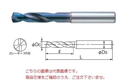 不二越 (ナチ) 超硬ドリル AQDS13.7 (アクアドリルスタブ)