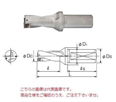 不二越 (ナチ) 超硬ドリル NWDX380D2S40 (アクアドリル NWDX 2D)