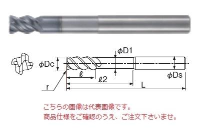 不二越 超硬エンドミル GSXVLLS4160T-R30-1.5D (GSX MILL VL ロングシャンクラジアス 1.5D Ti・SUS用)
