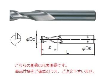 不二越 超硬エンドミル 2CE20 (アンカーV 2枚刃)