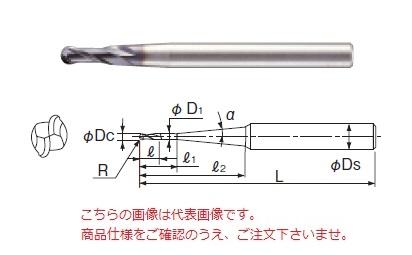 不二越 超硬エンドミル 2GEOPNR5X3 (X's ミルジオボール ペンシルネック)