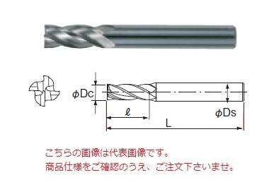 不二越 超硬エンドミル 4CE10 (アンカーV 4枚刃)