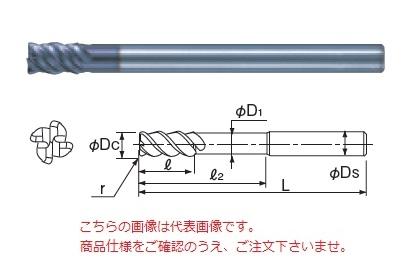 不二越 超硬エンドミル 4GEOLS10R0.5 (X's ミルジオラジアスロングシャンク)