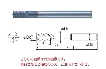 不二越 超硬エンドミル 4GEOLS17 (X's ミルジオロングシャンク)