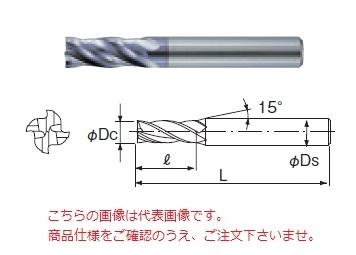 不二越 超硬エンドミル 4GS15 (GS MILL4枚刃)