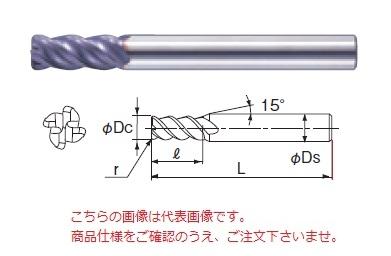 不二越 超硬エンドミル 4XSGEO12R0.5 (X's ミルジオラジアス)