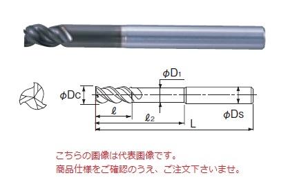 不二越 超硬エンドミル DLCSLTLS12 (DLC ミル スロットロングシャンク)