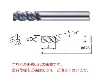 不二越 超硬エンドミル GEOSLT11 (X'sミルジオ スロット)