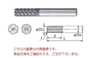 不二越 超硬エンドミル GSH8200SF-R15 (GS MILL ハードラジアス)