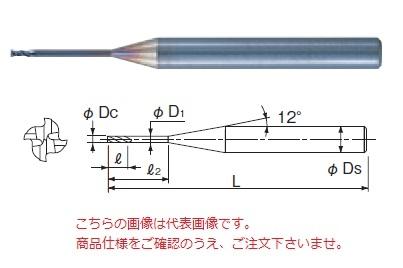 不二越 超硬エンドミル GSN4100060010 (GS MILL ロングネック 4枚刃)