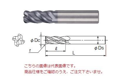 不二越 超硬エンドミル GSRE4100SF-R20 (GS MILL ラフィングラジアス)