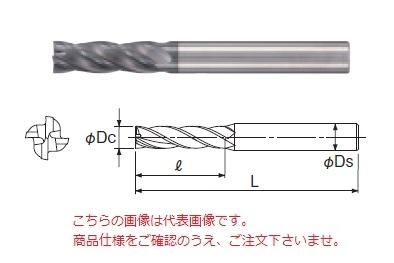 不二越 超硬エンドミル GSX42000C-3D (GSX MILL 4枚刃 3D)