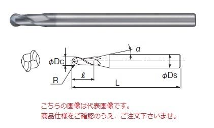 不二越 超硬エンドミル GSXB21000 (GSX MILL ボール)