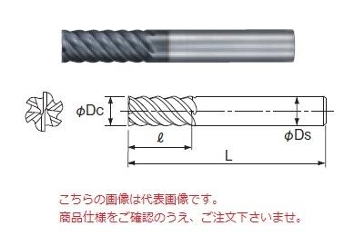 不二越 超硬エンドミル GSXVLH6120-2.5D (GSX MILL VL ハード 2.5D)