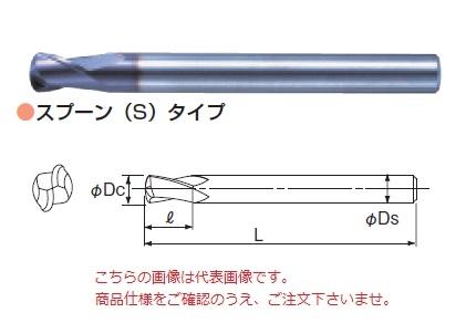 不二越 超硬エンドミル OVM12X3 (オーバルミル スプーン(S)タイプ)