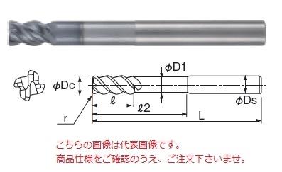 不二越 超硬エンドミル GSXVLLS4110-R20-1.5D (GSX MILL VL ロングシャンクラジアス 1.5D)